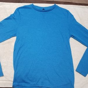 Aeropostale Long Sleeve Solid Crew Neck Thermal